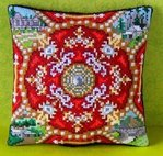 Caucasus inspired by Fabergé Mini Cushion Cross Stitch Kit
