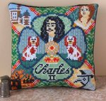 Charles II Mini Cushion Cross Stitch Kit