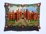 Handmade Hampton Court Palace Mini Pillow