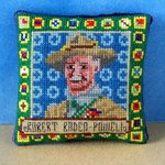 Robert Baden-Powell Pincushion Cross Stitch Kit