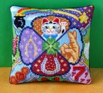 Good Luck/Lucky Charms Mini Cushion Cross Stitch Kit