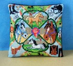 Horse and Pony Mini Cushion Cross Stitch Kit
