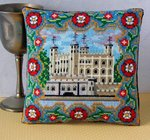 Tower of London Mini Cushion Cross Stitch Kit