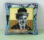 Charlie Chaplin Pincushion Cross Stitch Kit
