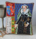 Mary Queen of Scots Mini Cushion Cross Stitch Kit