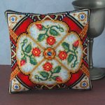 Tudor Treasure Mini Cushion Cross Stitch Kit