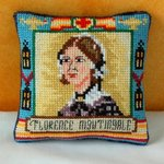 Florence Nightingale Pincushion Cross Stitch Kit