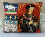 Richard III Portrait Mini Cushion Cross Stitch Kit