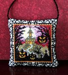 Halloween House on the Hill Hanging Decoration Cross Stitch Kit
