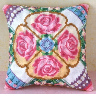 June Mini Cushion Cross Stitch Kit