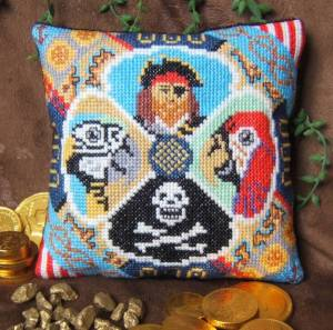 A Pirate's Life Mini Cushion Cross Stitch Kit