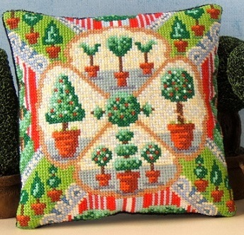 Topiary_Triumph_Mini_Cushion_Cross_Stitch_Kit