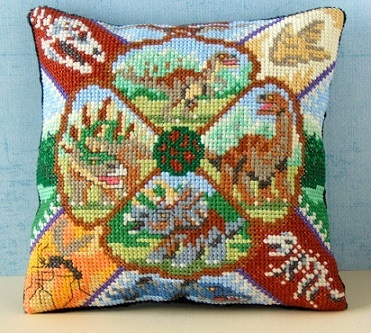 Dinsoaurs_Cross_Stitch_Kit