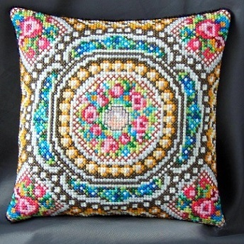 Mosaic_Mini_Cushion_Cross_Stitch_Kit