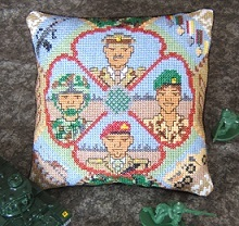 British Army Mini Cushion Kit