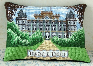 Duneagle Castle Mini Cushion Cross Stitch Kit