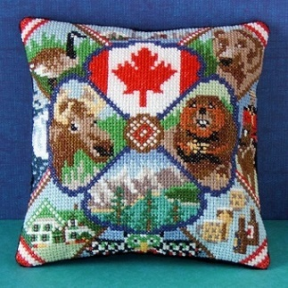 Oh, Canada Mini Cushion Cross Stitch Kit