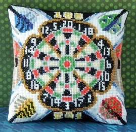 Darts Mini Cushion Cross Stitch Kit