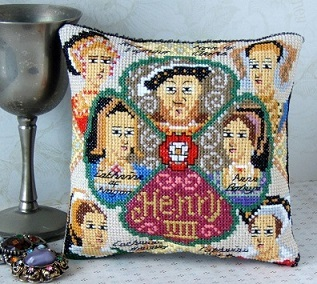 Henry VIII Mini Cushion Cross Stitch Kit