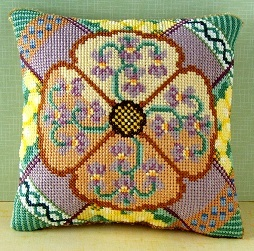 February Mini Cushion Cross Stitch Kit