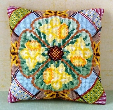 March Mini Cushion Cross Stitch Kit