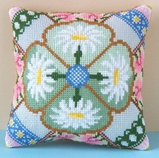 April Mini Cushion Cross Stitch Kit