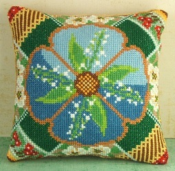 May Mini Cushion Cross Stitch Kit