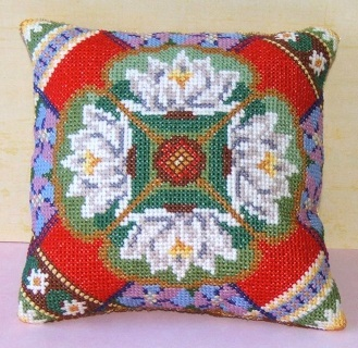 July Mini Cushion Cross Stitch Kit