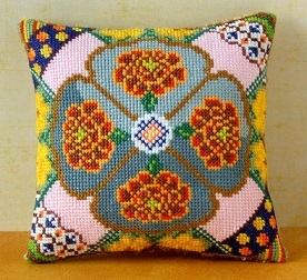 October Mini Cushion Cross Stitch Kit