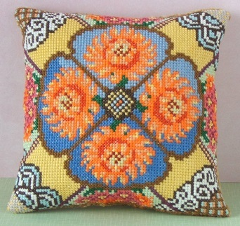 November Mini Cushion Cross Stitch Kit
