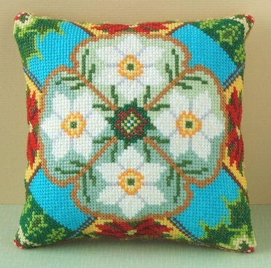 December Mini Cushion Cross Stitch Kit