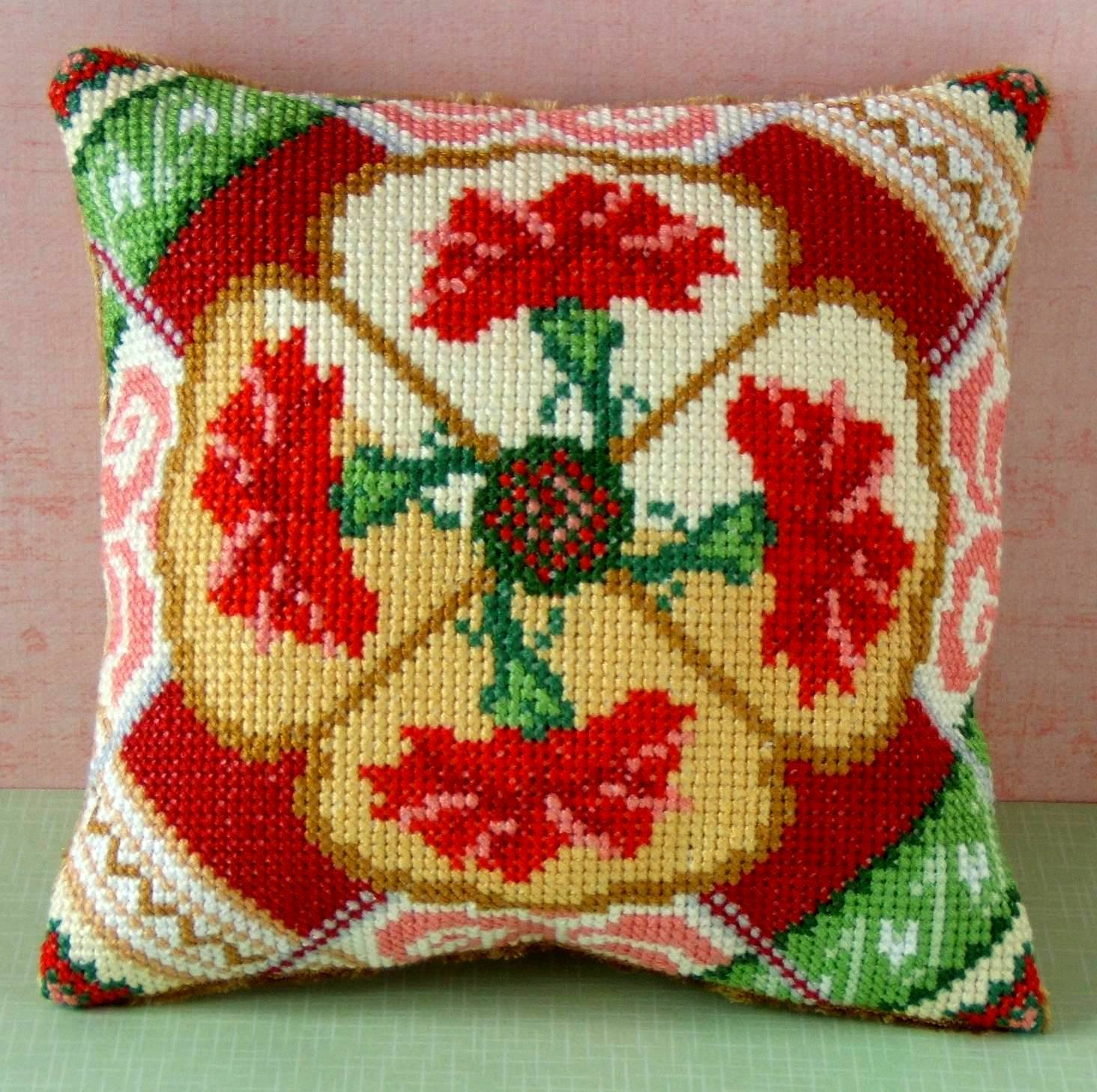 January Mini Cushion Cross Stitch Kit