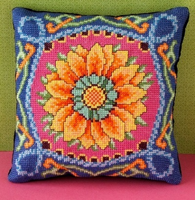 Amazing_Gazania_Cross_Stitch_Kit